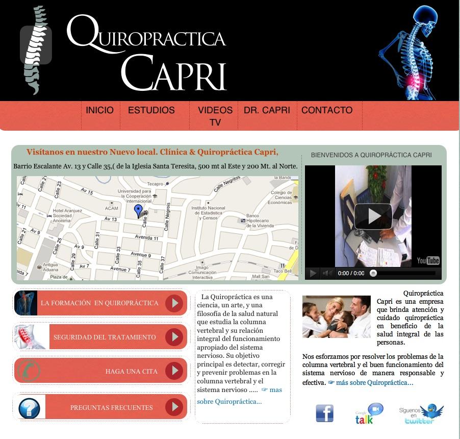 Quiropractica Capri